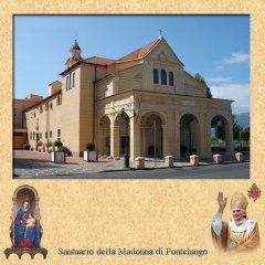 Sanctuaire de Notre Dame de Pontelungo à Albenga.  Source: santuarioalbenga.it