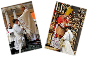 Le cardinal Wuerl et le cardinal Burke
