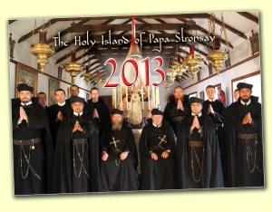 Photo de la communauté rédemptoriste traditionnelle et bi-rituelle (oriental et romain) de Papa Stronsay
