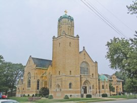 L'église Ste-Rose de Lima, Quincy Source: Catholic Times
