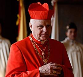 Le cardinal Edwin F. O'Brien