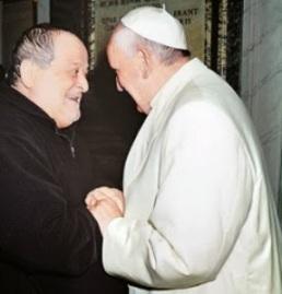 Le commissaire Volpi et le Pape François