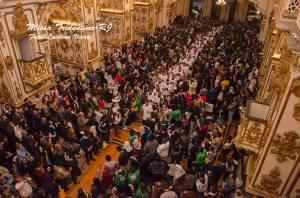 Messe traditionnelle célébrée dans le cadre des JMJ de 2013 à Rio