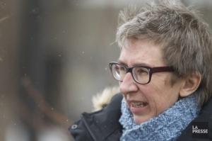 Mme Mailloux, candidate péquiste  Source: La Presse