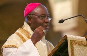 S.E. Mgr Ignace Kaigama, président de la CECN