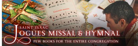 Le premier tome inclut l'ordinaire de la messe et le graduel