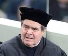 M. Antonin Scalia, juge catholique de la Cour suprême américaine