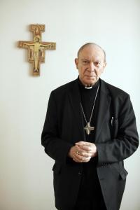 Mgr André-Joseph Léonard, archevêque de Malines-Bruxelles