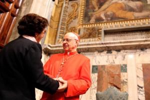 Le cardinal Lorenzo Baldisseri