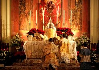 Messe de Noël au Sanctuaire de l'ICRSP à Chicago, É.-U.