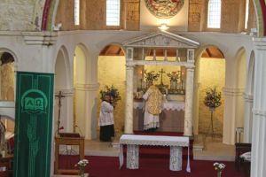 Église du Sacré-Coeur à Aberdeen, R.-U.