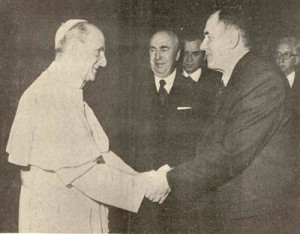 La Ostpolitik en action, Paul VI rencontrant des dignitaires soviétiques