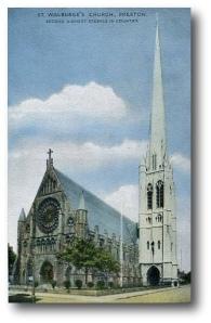 L'église Ste-Walburge à Preston (R.-U.)