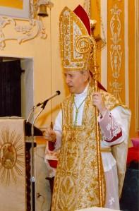 S.E.R. Mgr Mario Oliveri, évêque d'Albenga-Imperia