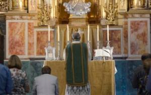 Messe traditionnelle célébrée à l'Oratoire Source: Diario de Cadiz