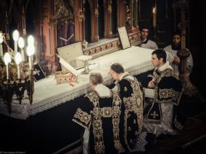 Messe de Requiem pour Louis XVI à Paris le 21 janvier 2013